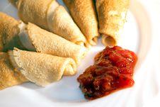 Free Pancakes. Royalty Free Stock Photo - 14356235