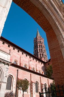 Free Cathedral In Toulouse II Royalty Free Stock Photography - 14356517