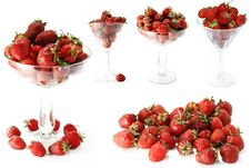 Free Strawberry Isolated Colllage Stock Photo - 14356760