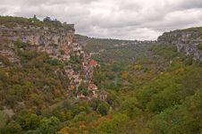 Free Rocamadour Panorama Royalty Free Stock Image - 14356776