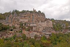 Free Rocamadour - Village Royalty Free Stock Photography - 14356837