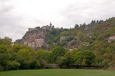 Free Rocamadour From The Park Stock Photo - 14356880