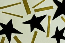 Free Cutout Stars Collage Royalty Free Stock Photography - 14357327