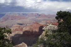 Free Grand Canyon Vista Royalty Free Stock Photos - 14357548