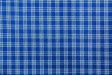 Free Blue White Squared Textile Pattern Stock Photo - 14358840