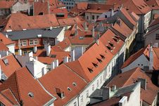 Free Red Rooftop Royalty Free Stock Photos - 14358928