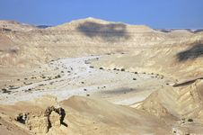 Free Negev Desert, Israel. Royalty Free Stock Photos - 14359278