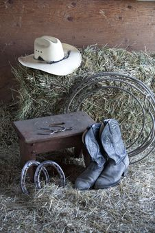 Free Things On A Ranch. Stock Photo - 14359300
