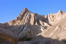 Mountain In Negev Desert. Royalty Free Stock Images