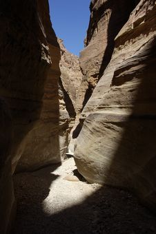 Free Canyon In Middle East. Stock Photography - 14359372