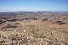 Negev Desert, Israel. Stock Image