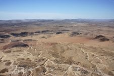 Free Negev Desert, Israel. Stock Image - 14359441