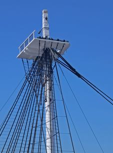 Free USS Constitution Mast Royalty Free Stock Images - 14359459
