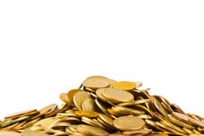 Heap Of Coins Royalty Free Stock Photography