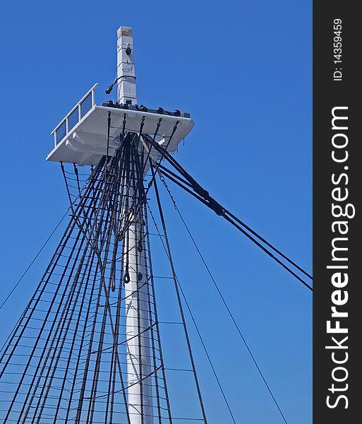 uss constitution mast free stock images photos 14359459