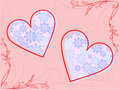 Free Frame With Hearts Royalty Free Stock Photos - 14366518