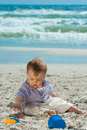 Free Child On A Beach Royalty Free Stock Photo - 14368395
