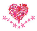 Free Abstract Floral Heart Royalty Free Stock Photos - 14369258