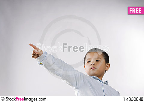 Child touch Stock Photo