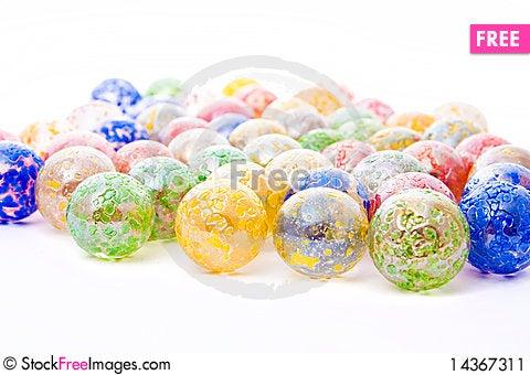 Free Decorative Glass Balls Stock Image - 14367311