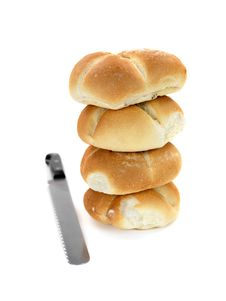 Free Bread Rolls Royalty Free Stock Image - 14360506