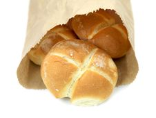 Free Bread Rolls Royalty Free Stock Photography - 14360537