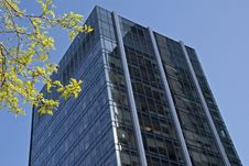 Free Modern High Rise Office Tower Royalty Free Stock Photography - 14360597
