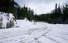 Free Snow Scenery Royalty Free Stock Photos - 14360768