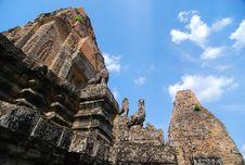 Free Padoga At Sanctuary, Cambodia Royalty Free Stock Photography - 14360807