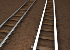 Free Rail Tracks Royalty Free Stock Images - 14360979