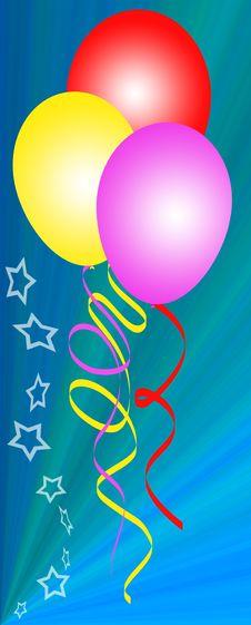 Free Balloons Stock Image - 14361081