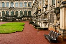 Free Courtyard At Zwinger Stock Photo - 14361120