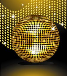 Free Disco Sphere Royalty Free Stock Photo - 14361395