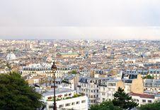 Free Montmartre - View Of Paris Stock Images - 14361754