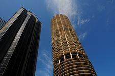 Free Chicago Skyscrapers Stock Photo - 14362140