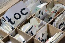 Free Letter Box Stock Image - 14362341