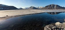 Free Cylindrical Panorama Of Mountain Lake Royalty Free Stock Photo - 14362515
