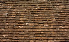 Brown Roof Stock Photography