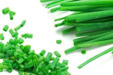 Free Onion Green Royalty Free Stock Photo - 14362955