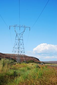 Free Power Line Royalty Free Stock Photography - 14363057