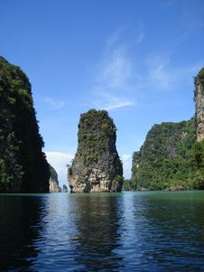 Free Tapu Island,or James Bond Island Stock Photography - 14363462