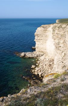 Free View On The Black Sea Form The High Cliff Royalty Free Stock Photography - 14364007