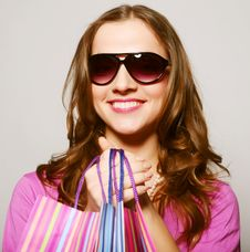 Free Woman With Sunglasses Royalty Free Stock Photography - 14366707