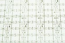 Free Code Card Stock Image - 14366771