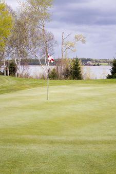 Free Golf Flag Stock Photo - 14366840