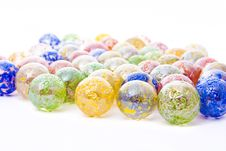 Decorative Glass Balls Stock Image
