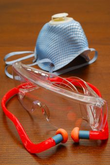 Free Safety Gear Royalty Free Stock Photo - 14367645
