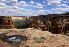 Colorado National Monument Stock Image