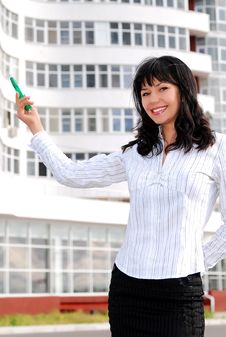 Free Young Business Woman Stock Photography - 14368862