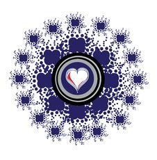Free Heart Emblem Stock Photography - 14369282